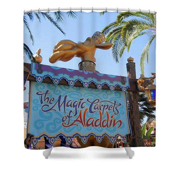 Magic Carpet Ride Shower Curtain