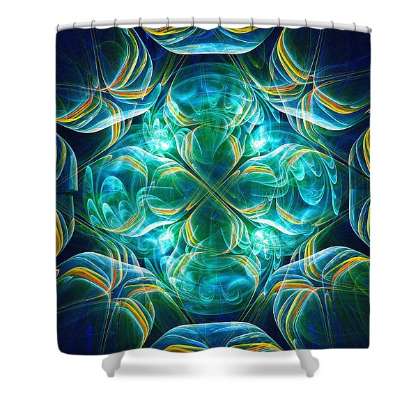Magic Mark Shower Curtain