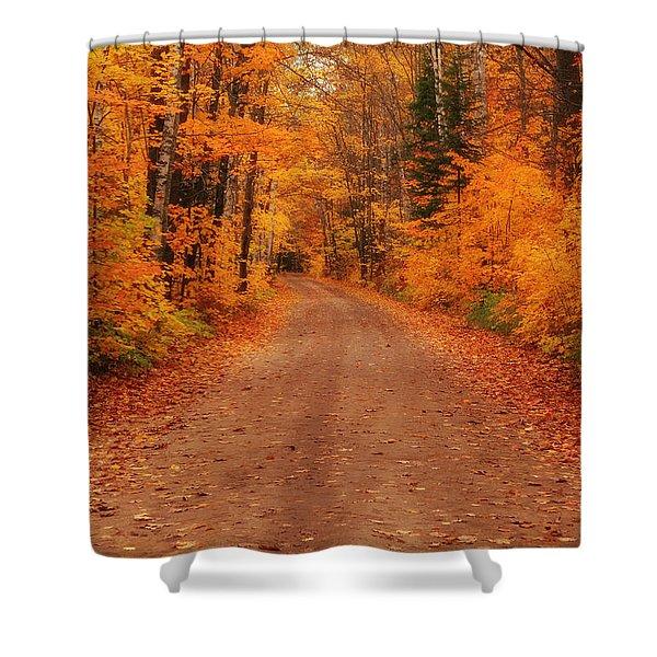 Magical Autumn Mystery Shower Curtain