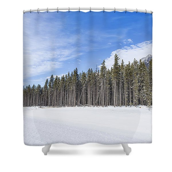 Magnetic North Shower Curtain