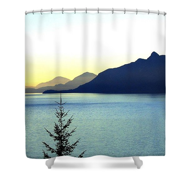 Magnificent Howe Sound Shower Curtain