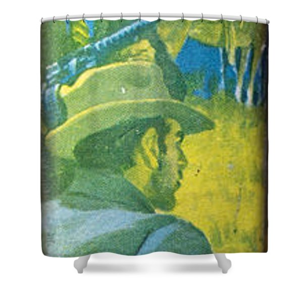 Majesty's Rancho By Zane Grey Shower Curtain