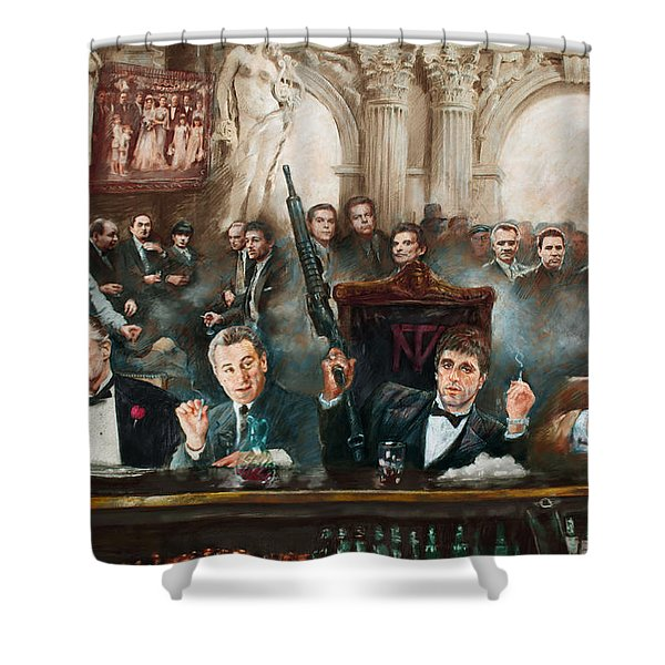 Make Way For The Bad Guys Col Shower Curtain