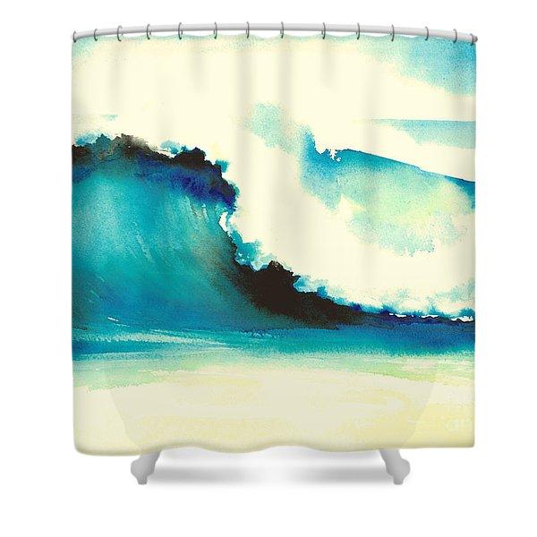 Makena Maui Shower Curtain