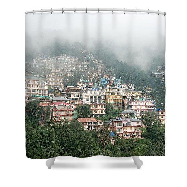 Maleod Ganj Of Dharamsala Shower Curtain