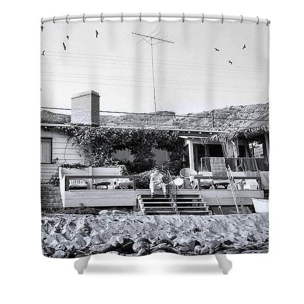 Malibu Beach House - 1960 Shower Curtain