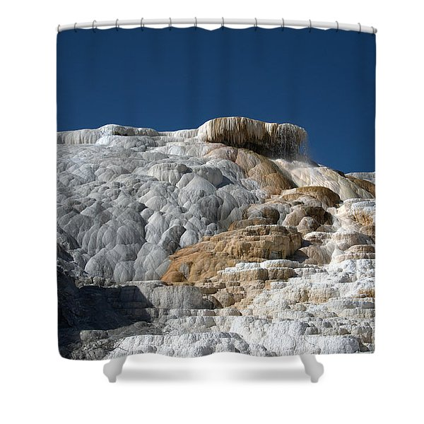 Mammoth Hot Springs 2 Shower Curtain