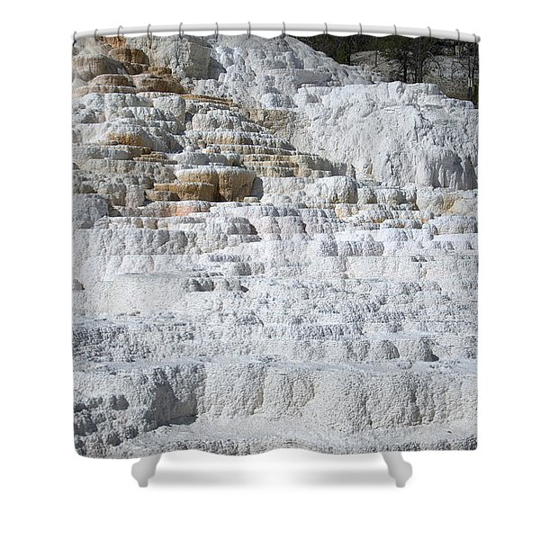 Mammoth Hotsprings 3 Shower Curtain