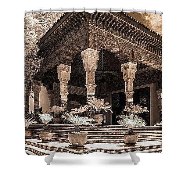 Mamounia Hotel In Marrakech Shower Curtain