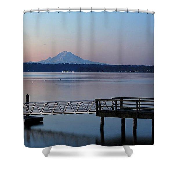 Manchester Pier Shower Curtain