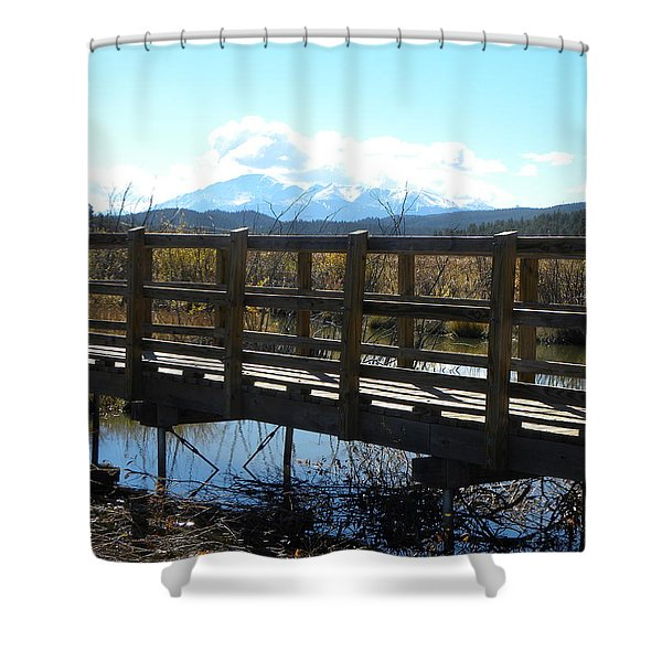 Lake Manitou Sp Woodland Park Co Shower Curtain
