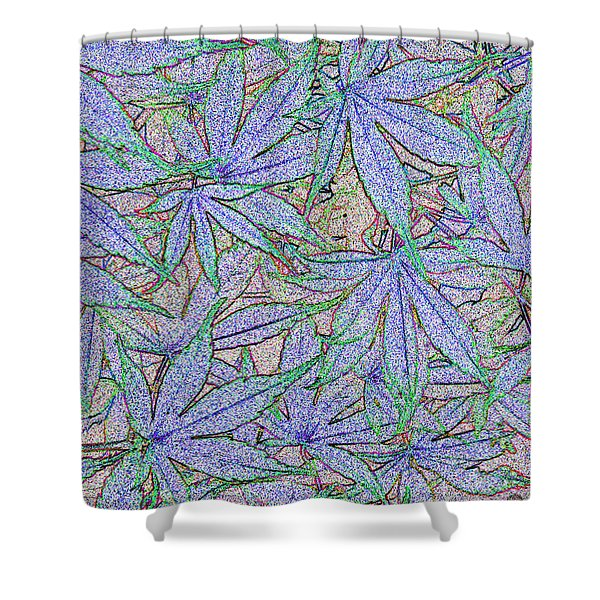 Maple Leaves No.2 Shower Curtain