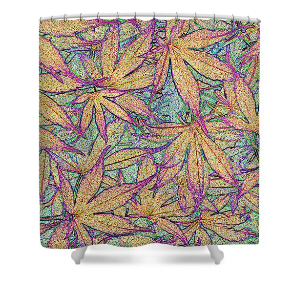 Maple Leaves No.4 Shower Curtain