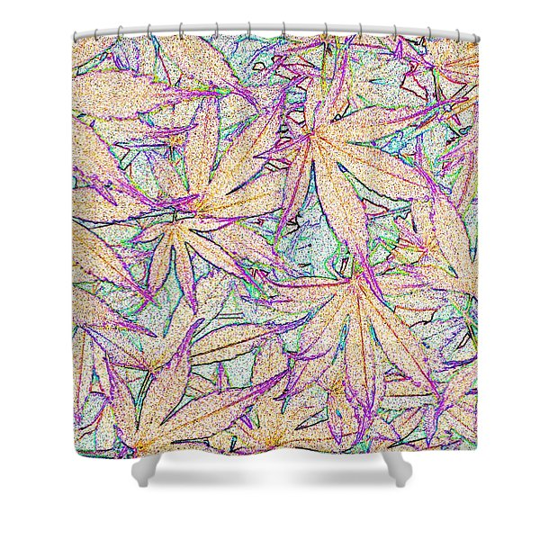 Maple Leaves No.5 Shower Curtain