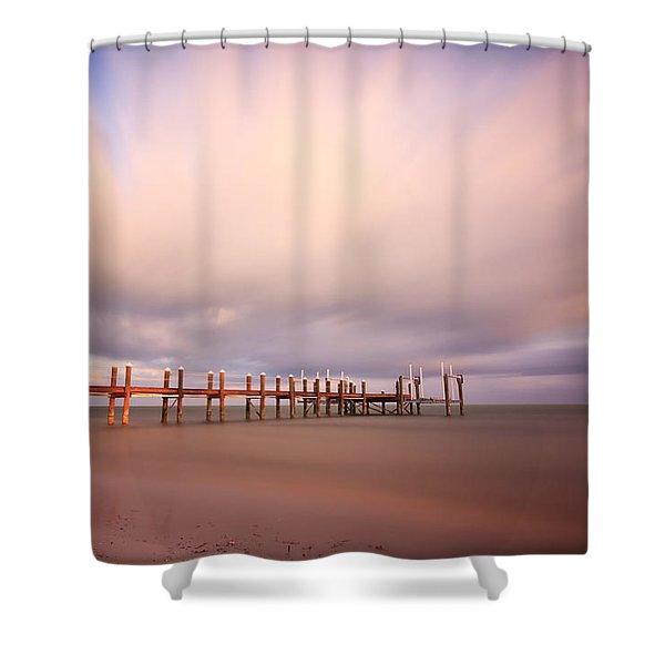 Marathon Key Long Exposure Shower Curtain