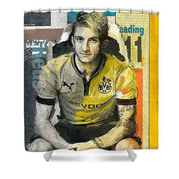 Marco Reus - B Shower Curtain