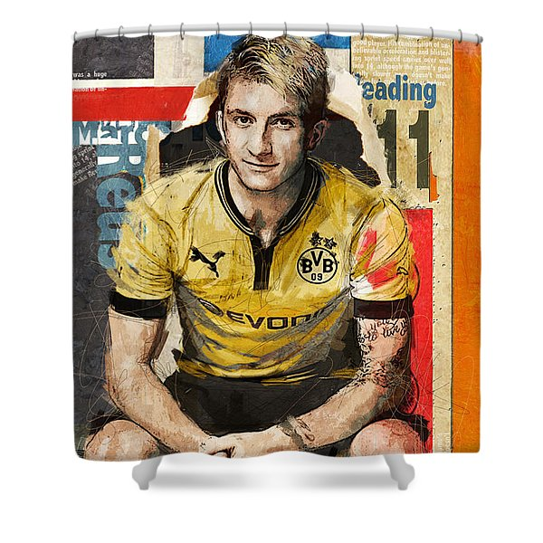 Marco Reus Shower Curtain