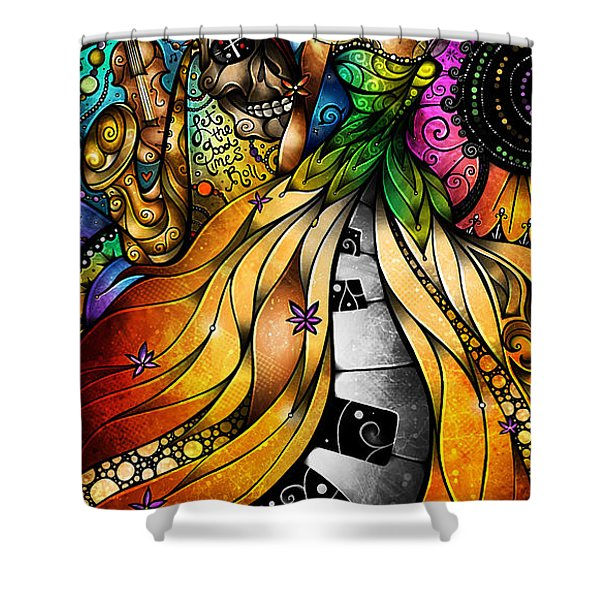 Mardi Gras 2014 Shower Curtain