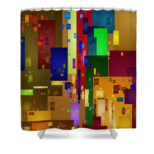 Mardi Gras Shower Curtain
