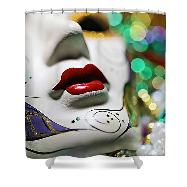 Mardi Gras II Shower Curtain