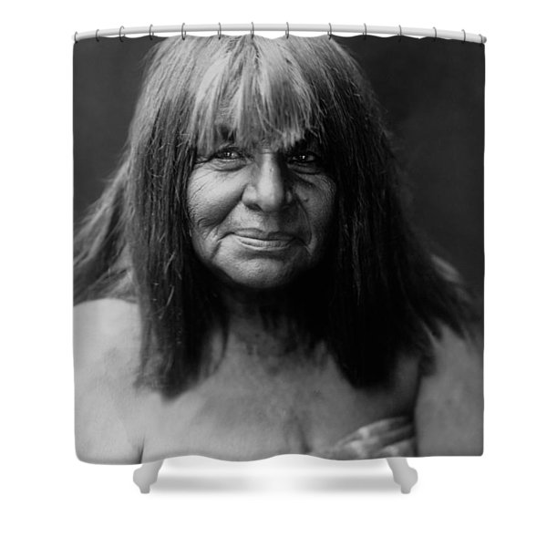 Maricopa Indian Women Circa 1907 Shower Curtain
