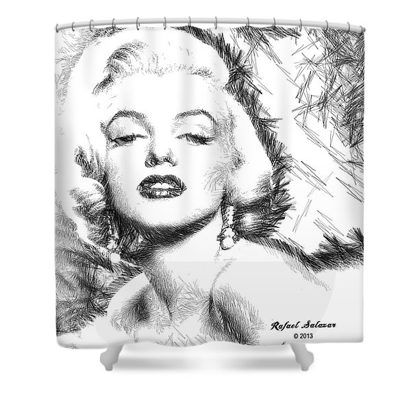Marilyn Monroe - The One And Only  Shower Curtain