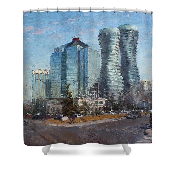 Marilyn Monroe Towers Shower Curtain