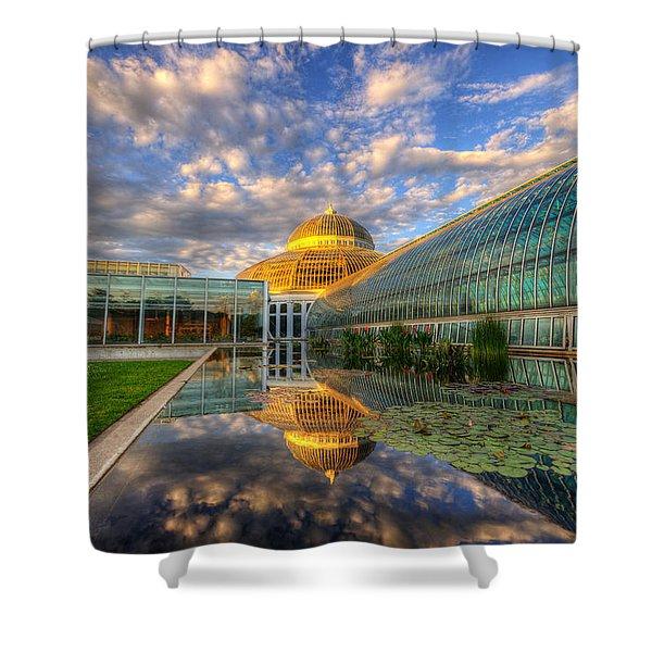 Marjorie Mcneely Conservatory Evening  Shower Curtain