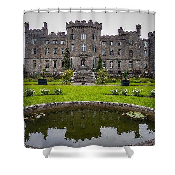 Markree Castle In Ireland's County Sligo Shower Curtain