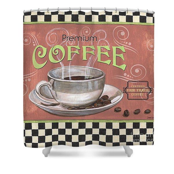 Marsala Coffee 2 Shower Curtain