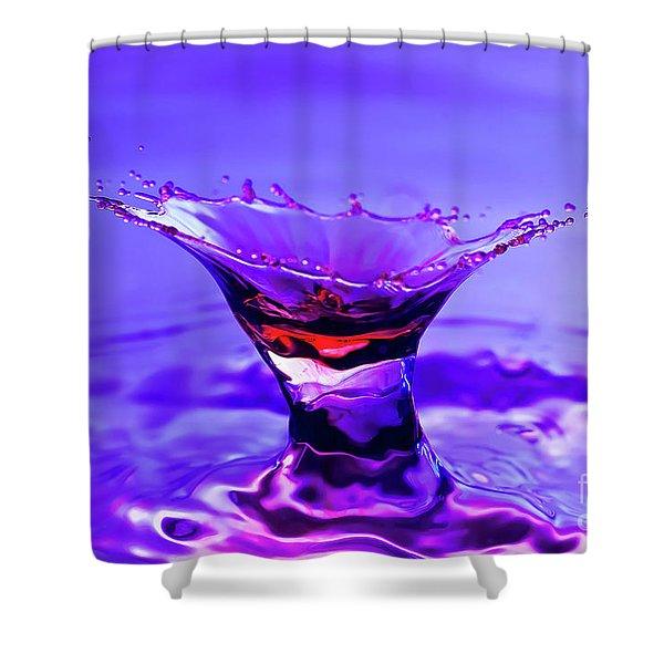 Martini Splash Shower Curtain