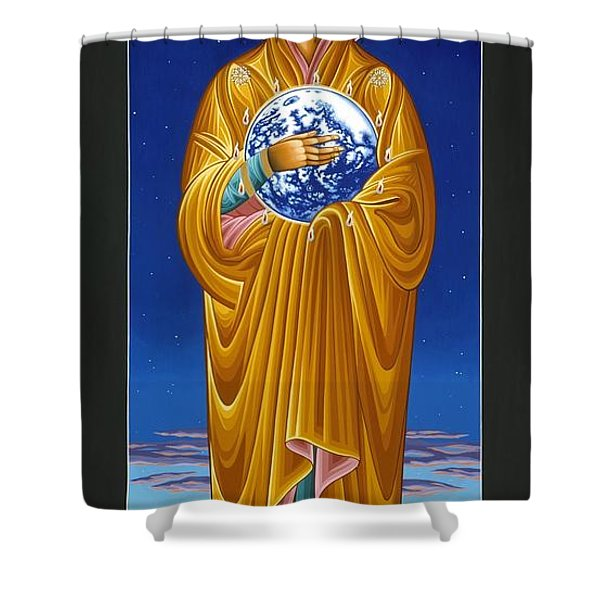 Mary Most Holy Mother Of All Nations 080 Shower Curtain