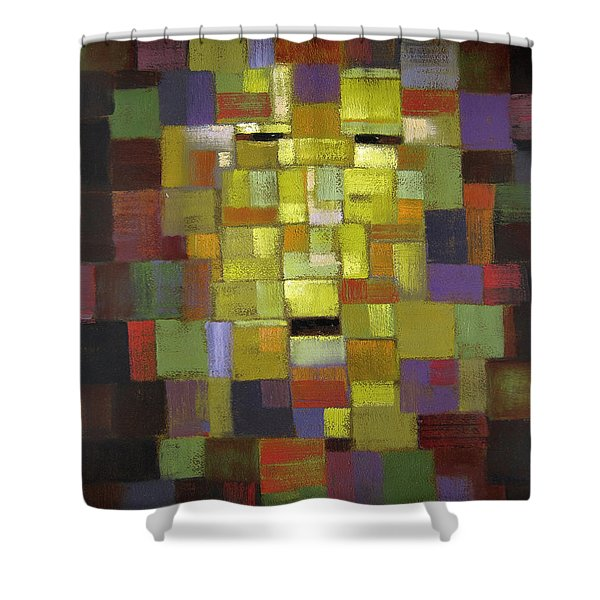 Mask Of Color Shower Curtain