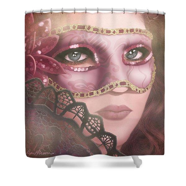 Masked Iv Shower Curtain