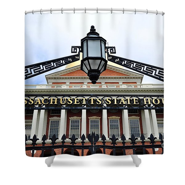 Massachusetts State House Shower Curtain