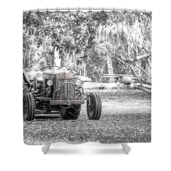 Massey Ferguson Tractor Shower Curtain