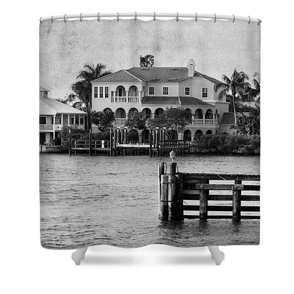Matanzas Pass - Fort Myers Beach - Florida Shower Curtain