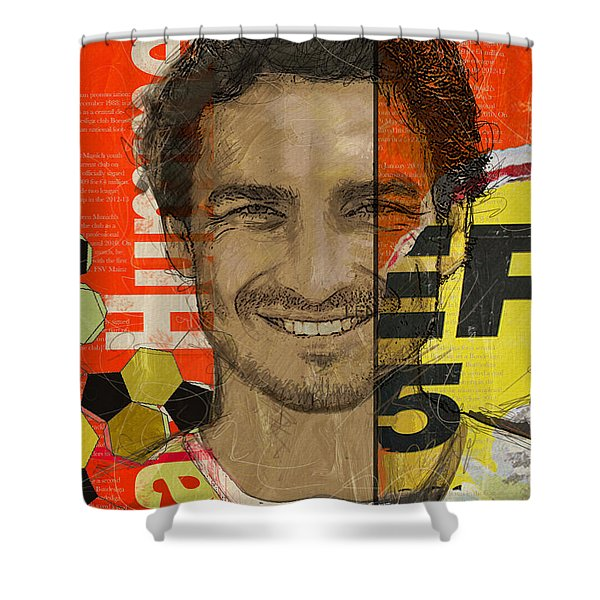 Mats Hummels Shower Curtain