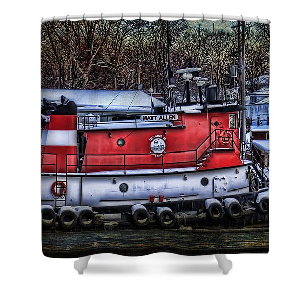 Matt Allen In Saugatuck Michigan Shower Curtain