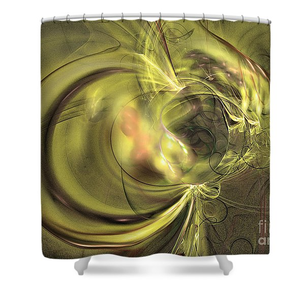 Maturation - Abstract Art Shower Curtain