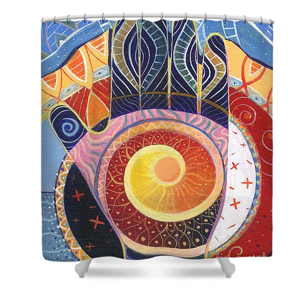 May You Always Find Your Way Shower Curtain