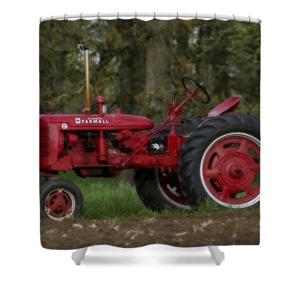 Mccormick Farmall Shower Curtain
