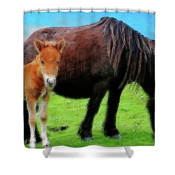 Me And Mum Shower Curtain