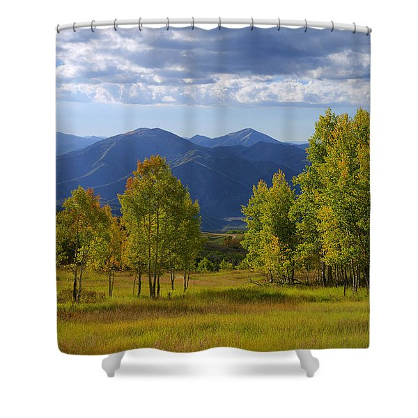 Meadow Highlights Shower Curtain