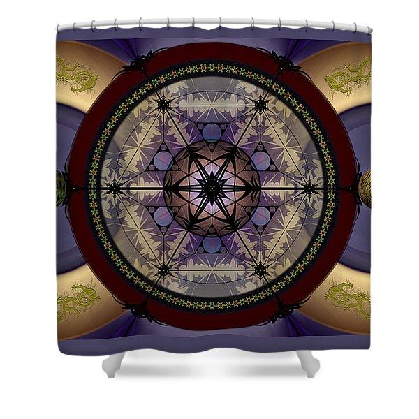 Mechanical Wonder Shower Curtain