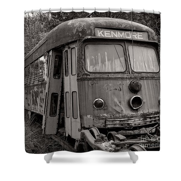 Meet Me In Kenmore Square Shower Curtain