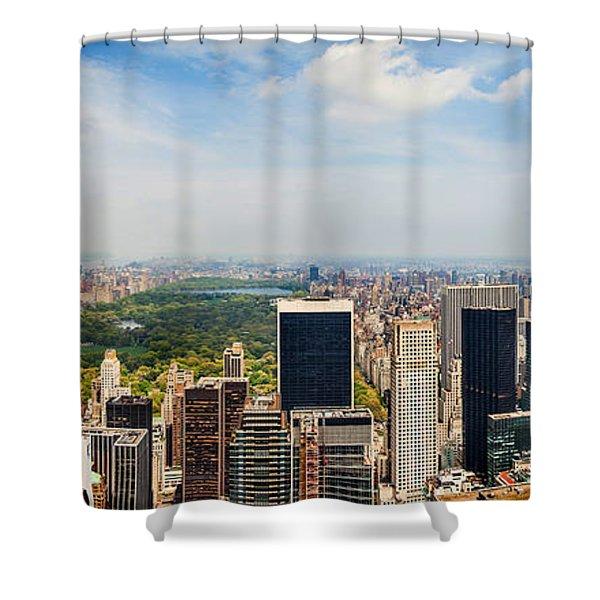 Megacity Shower Curtain