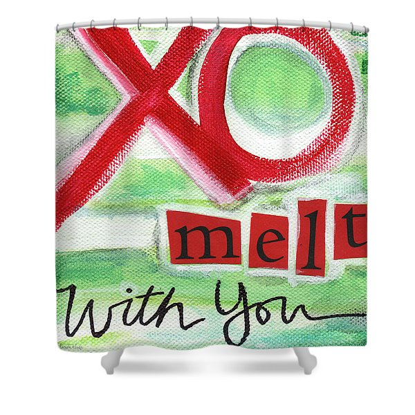 Melt With You Shower Curtain