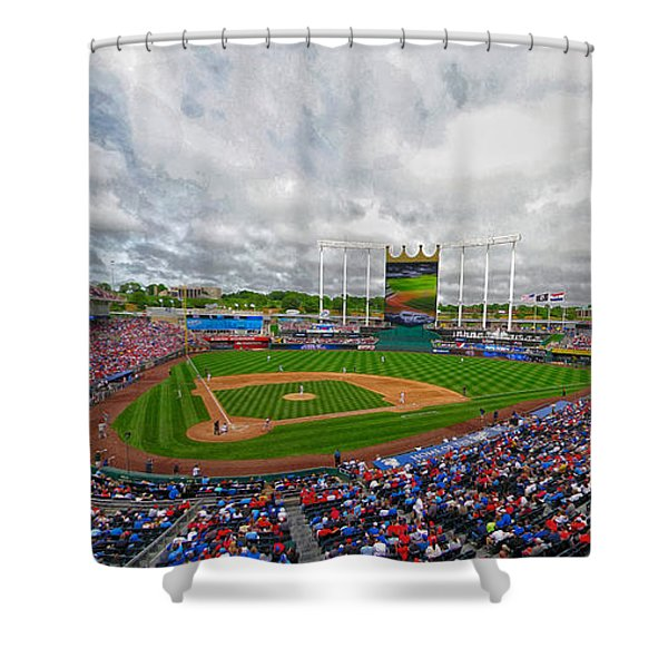 Memorial Day At The K Shower Curtain