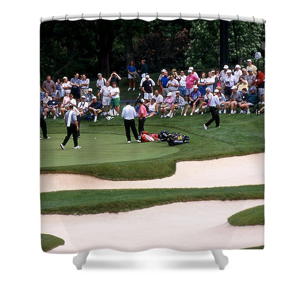 12w192 Memorial Tournament Photo Shower Curtain